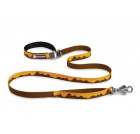 Correa para perros Flat Out Leash Marrón RUFFWEAR