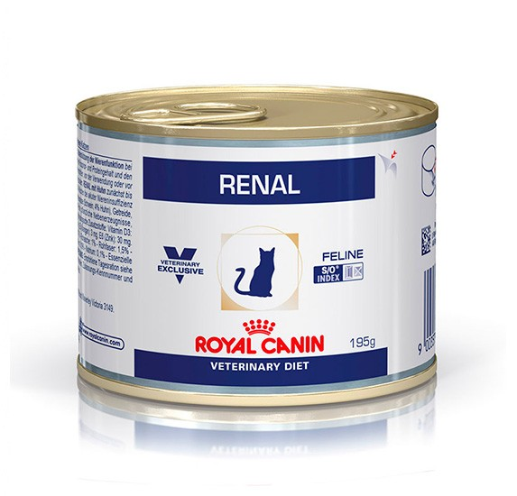 ROYAL CANIN Feline Veterinary Renal 12 latas - Pollo