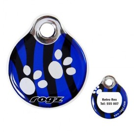Placa Identificativa Personalizable ROGZ