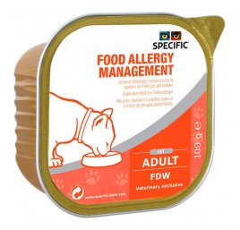 SPECIFIC Feline FDW Food Allergy Management Húmedo - Cordero